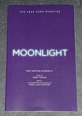 MOONLIGHT For Your Consideration Adapted Screenplay Movie Script Barry Jenkins