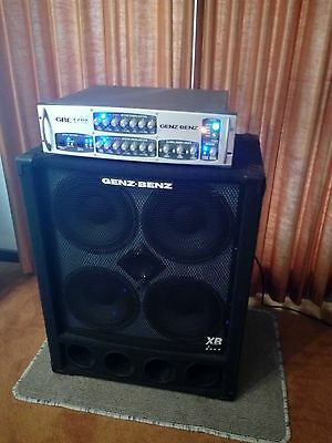 Bass Amp - Head and Cabinet Genz Benz GBE 1200    $1000!