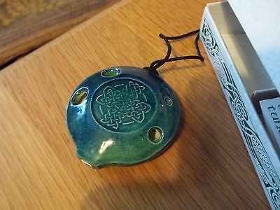VINTAGE SONGSTONE OCARINA made by Songstone Studios / Terry Riley Vessel Flutes
