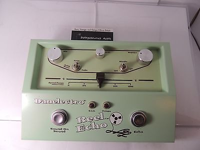 Danelectro Reel Echo Echoplex Style Delay Effects Pedal  Free Usa Shipping