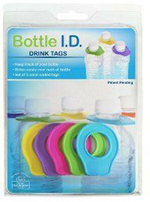 Better Houseware Bottle With Id Drink Tags