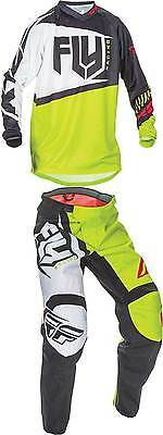 2017 Fly Racing Youth F-16 Jersey Pant Combo - MX ATV Motocross Dirt Bike Gear
