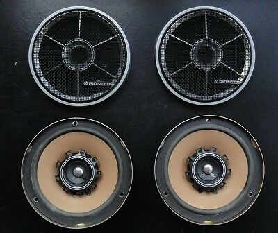 Vinatge, TS-167 Pioneer In Car Speakers, Coaxial, Two Way, 4 Ohms.  1970/80's.