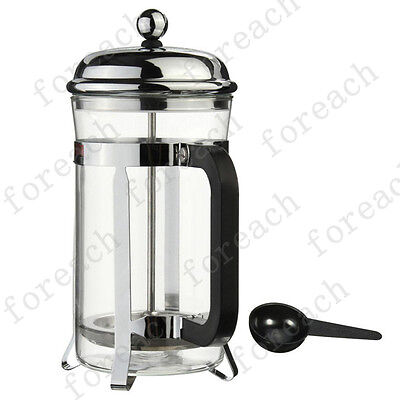 French Press Coffee Cup Maker Flowering Tea Stainless Steel 600ml  Cafetiere Cup