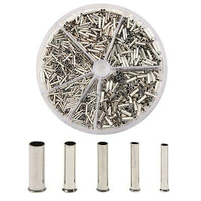 1900pcs Insulated Cooper Wire Crimp Connector Cord Pin End Terminal Ferrules kit