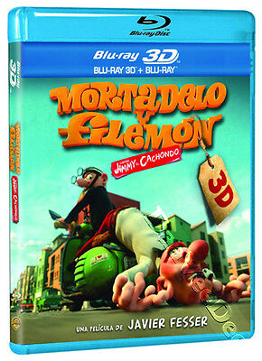 Mortadelo & Filemon: Mission Implausible NEW Cult Blu-Ray Disc J. Fesser Spain