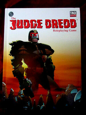 VERY RARE - JUDGE DREDD ROLEPLAYING GAME. RPG OOP d20 2000AD