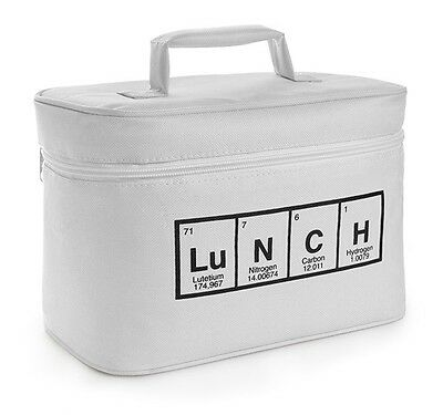 Periodic Table Of Elements Insulated Lunch Bag Box Cooler Science Breaking Bad