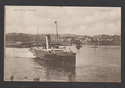 London & South Western Railway ss VERA (built 1898) at Guernsey ... (with fault)