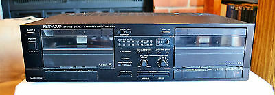 Kenwood Kx-67W Dual Deck 1988 Part Of Spectrum Series Serviced Great Condition