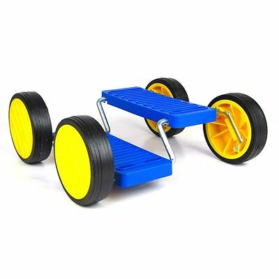 Pedal Go - Fun Pedal Balance Toy - Circus Skills Pedal Racer - Blue
