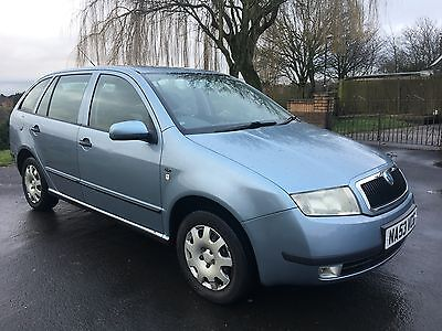 Skoda Fabia 1.9 Tdi Estate Comfort, 53 Reg, Diesel, Manual, 144K, Grey