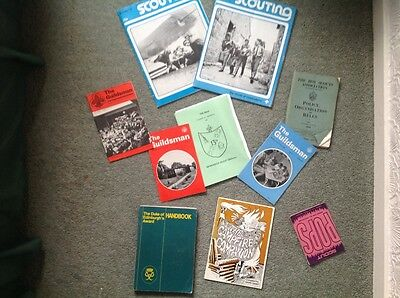 Miscellaneous collection of Scouting Books