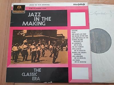 JAZZ IN THE MAKING The Classic Era Louis Armstrong et al. LP
