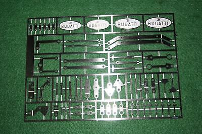 Pocher Bugatti Models Bag 621 Upgraded & Replacement Parts Plate