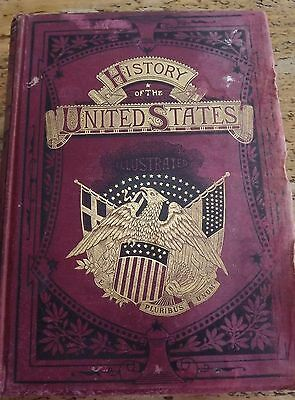 Rare Antique Book Cassells History Of The United States Vol 11  Dated 1877