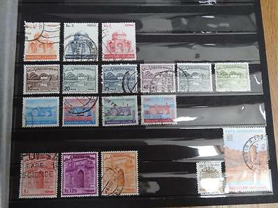 18 Stamps From Pakistan - Used And Off Paper