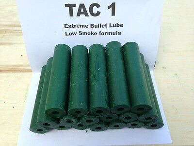 TAC 1 Extreme bullet lube-Low smoke-10 Hollow sticks/Alleebeeswax product