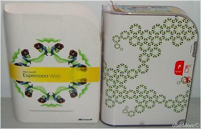 ►NEU Microsoft Expression Web Vollversion deutsch Frontpage CD BOX UCQ-00464