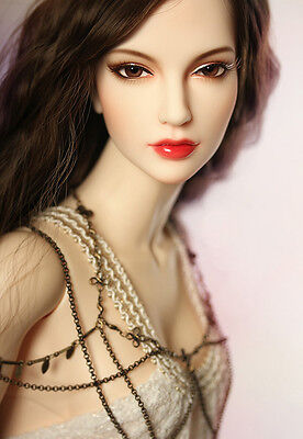 Resin Figures BJD 1/3 Doll Sweetness Girl Free Eyes and Face Up Extra heel feet
