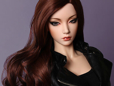 Ball Jointed Doll 1//3 Curvy Girl With Eyes Free Face Up resin figures toys gifts