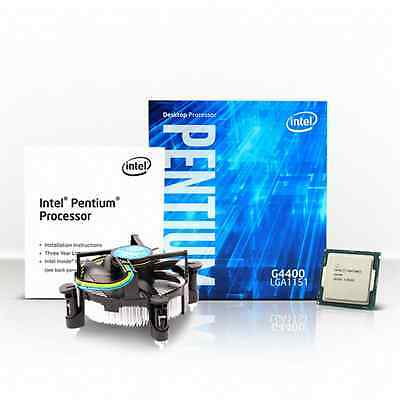 Kit Scheda Madre Processore Ram Intel G4400 Asus H110M-K 4Gb Ram Kingston Ddr4