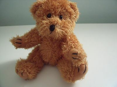 Skogstokig Souvenir Brown Teddy Bear With Moveable Paws Approx 8 Inches