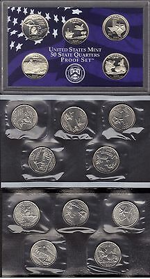 2004-P, D & S Clad State Quarter  Year Set  ( 15 Coins )