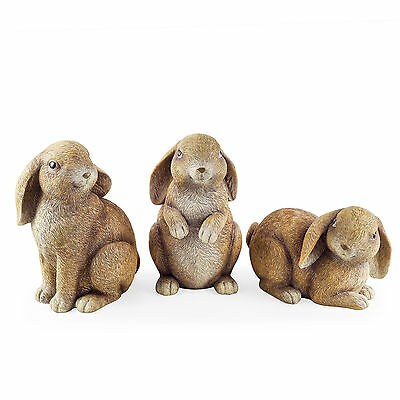 Latex Rubber Mould Mold Molds Triple Set Of 3 Rabbit Moulds