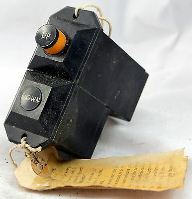Dowty undercarriage selector switch for RAF aircraft (GA9)