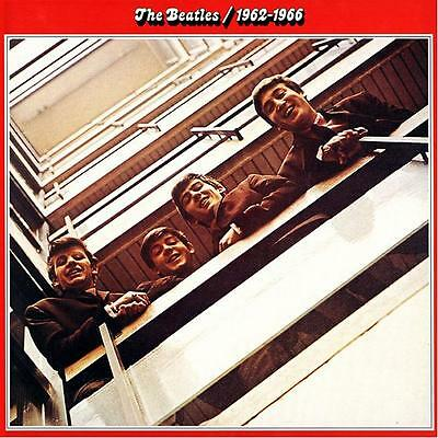2) cd the Beatles 1962/1966  2)CD BOX RED  NUOVO / ORIGINALE siae / SIGILLATO