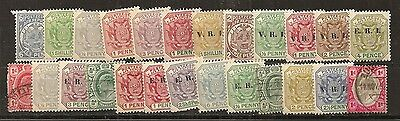 transvaal 25 timbres différents identique au scan.