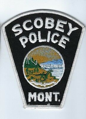 Scobey (Daniels County) MT Montana Police Dept. patch - NEW!