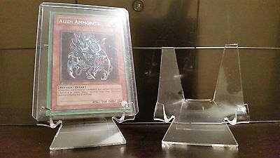 """5 Premium 1-3/4"""" Display Stand Easel Game Cards Playing Cards Trading Cards"""