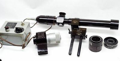Richter Auto Collimator R-2 with Focal Plane Micrometer Camera Lens Repair