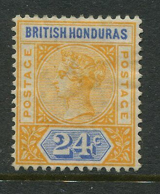British Honduras 1891 24 cents orange & blue mint o.g. hinged