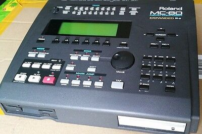 Roland MC-80 Micro Composer / Sequencer Fitted with 100MB Internal ZIP Drive