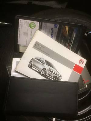 Vauxhall  Astra H & Estate Handbook Pack & Wallet Pack 04-09 Owners Manual