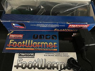 NEW! HOTRONIC Footwarmer Boot/Shoe Heating System