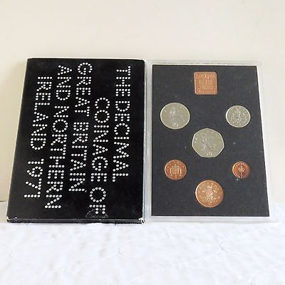1971 ROYAL MINT FIRST DECIMAL 6 COIN PROOF SET - sealed/outer