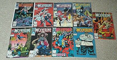 Wolverine: First 9 Comics *RARE*
