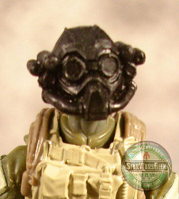 "MH145 Custom Cast Male head for use with 3.75/"" GI Joe Star Wars Marvel figures"
