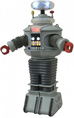 Diamond Select Toys Lost In Space B9 Electronic Talking Robot Interactive Wheels