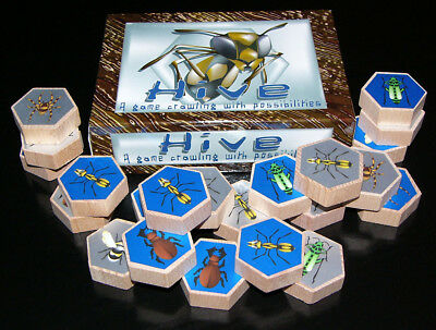 NEW Original Wooden HIVE - Award Winning Game - 2003 - with English Rules