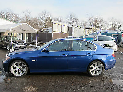 2007 BMW 3-Series XI BMW 335XI 2007 ALL WHEEL DRIVE SEDAN LOW MILEAGE REPAIRABLE SALVAGE GREAT COLOR