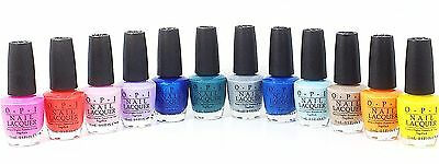 OPI Lacquer Nail Polish Spring 2017 Fiji Collection Set Of 12