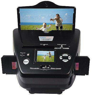 DigitNow!Multiformat Slide and Photo Film Scanner to SD Card