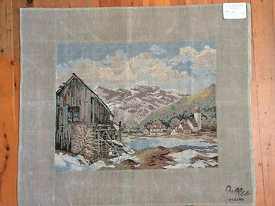 Vintage  Jolles Tramme Tapestry/Needlepoint Canvas Design # 23542/4 - 360