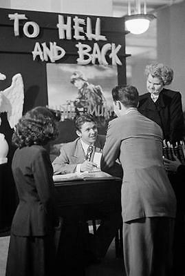 Audie Murphy At Abook Signing  8X10 Photo 7