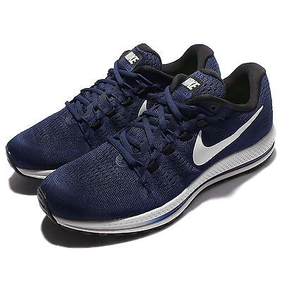 Nike Air Zoom Vomero 12 Navy White Men Running Shoes Sneakers Trainer 863762-401
